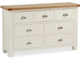 Buttermilk 3+4 Chest of Drawers