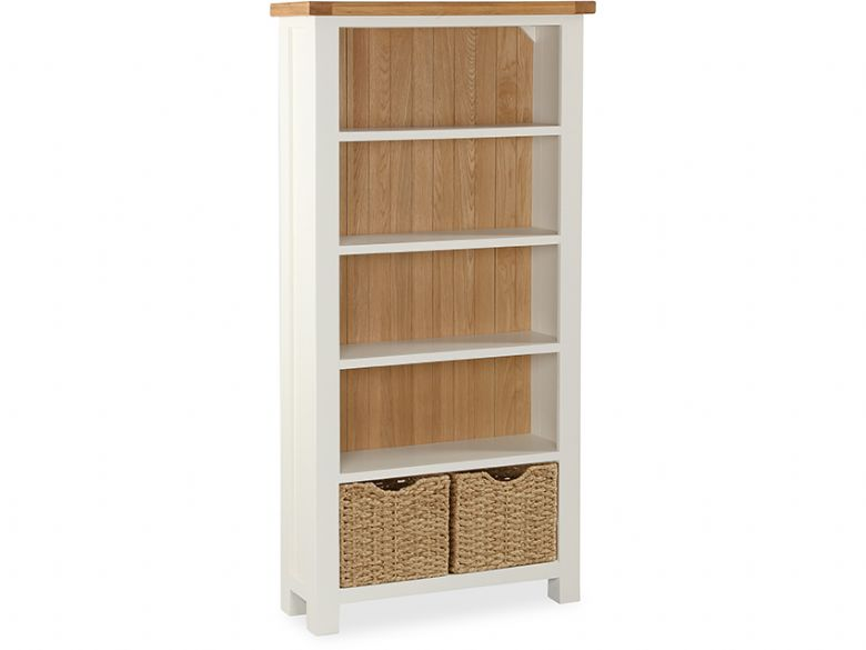 Suffolk buttermilk large bookcase