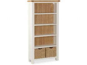 Buttermilk Large Bookcase