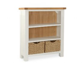 Buttermilk Low Bookcase