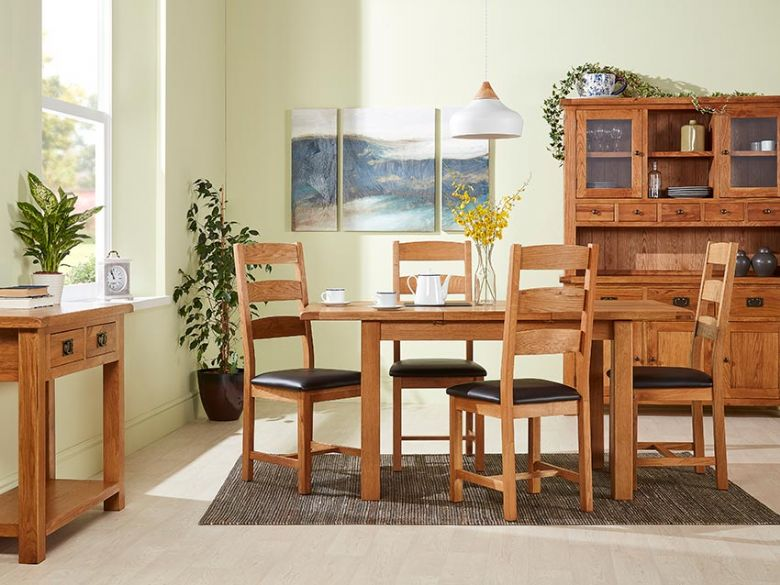 Winchester Oak Dining Room Range