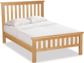 Oak 4'6 Double Bed