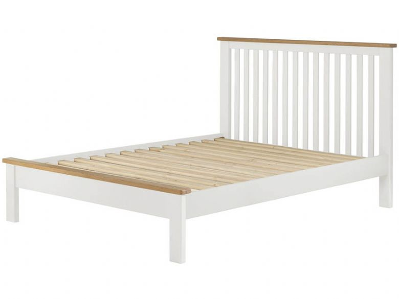 Painted 4'6 Double Bed Frame