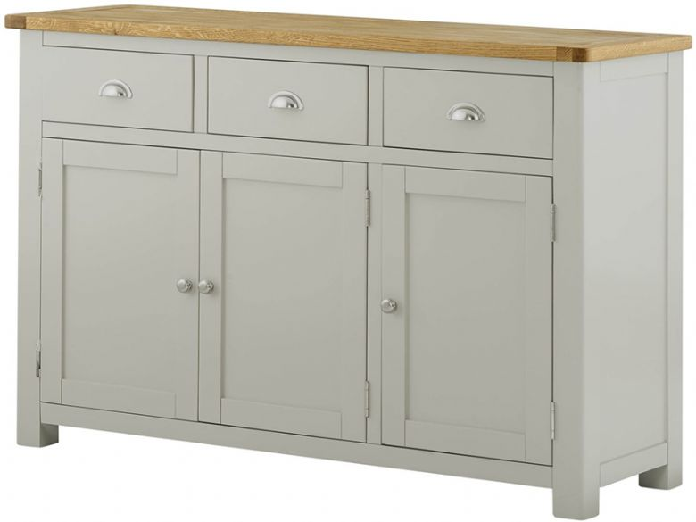 Hockley Painted 3 Door Sideboard