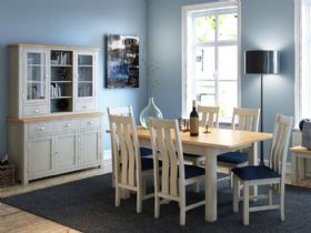 Hockley painted oak dining collection