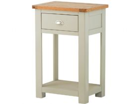 Painted Console Table With 1 Drawer