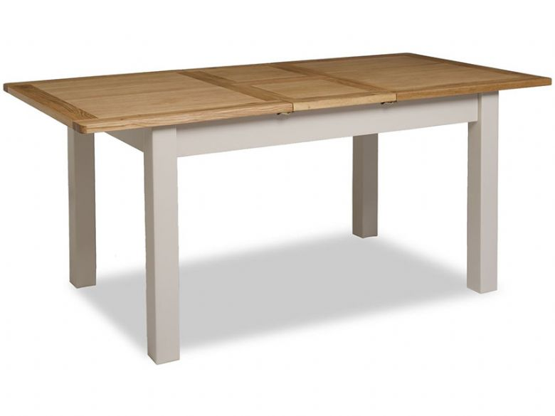 Hockley Painted Extending Dining Table Extended