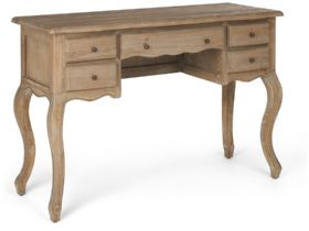 Distressed Oak Dressing Table