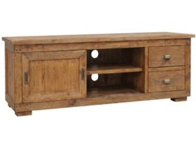Reclaimed Pine Large TV Cabinet