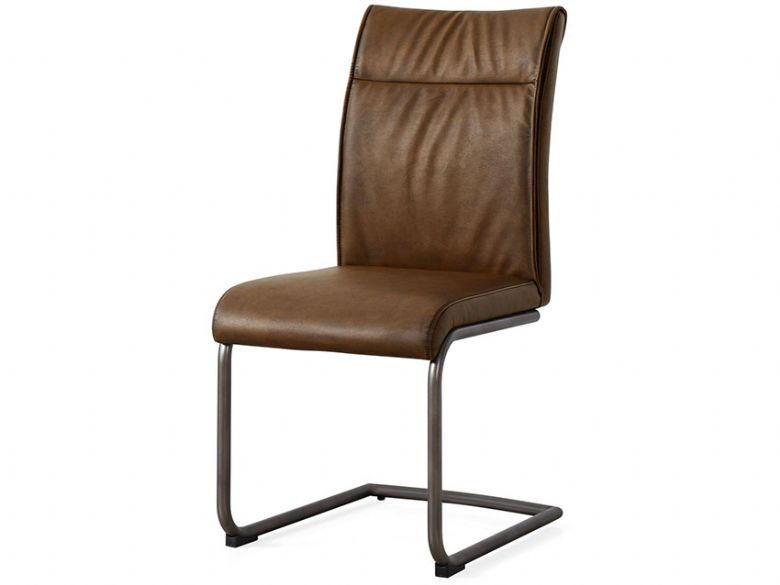 High Back Brown Dining Chair