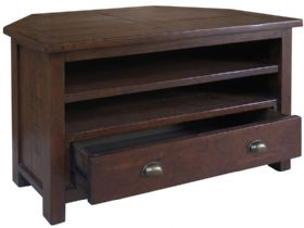 Claverton Corner TV Unit Side Open
