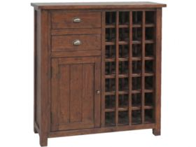 Claverton Wine Cabinet Side