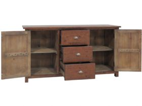 Claverton Large Sideboard Open