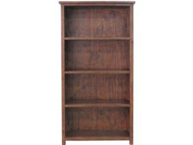 Claverton Reclaimed Pine Bookcase Front