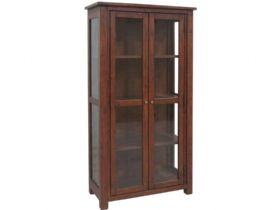 Reclaimed Pine Glazed Display Cabinet