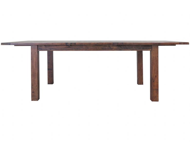 Claverton Large Extending Dining Table Front Open