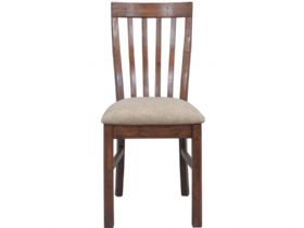 Claverton Dining Chair With Fabric Seat Front