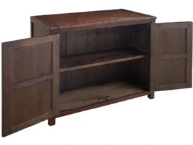 Claverton Double Cupboard Side Open