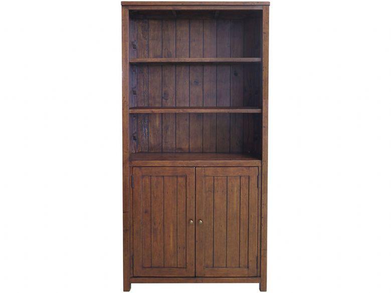 Claverton Bookcase With Cupboard