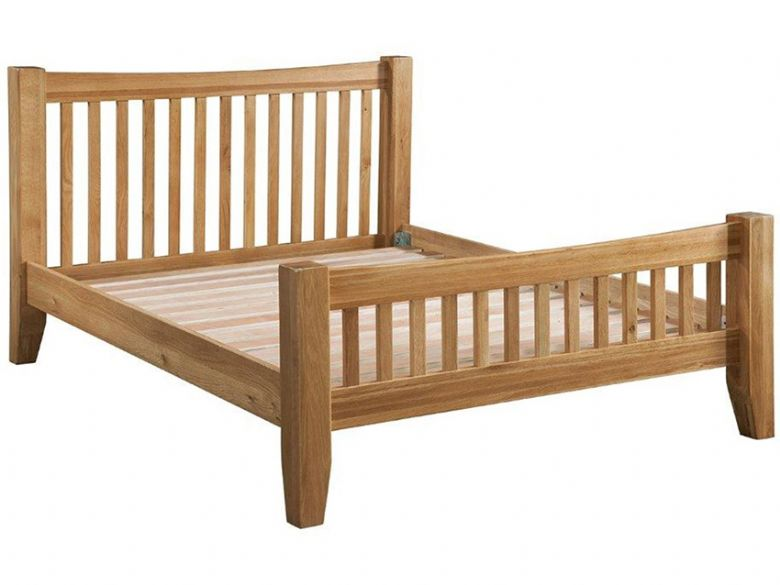 Oak 5'0 King Size Bed