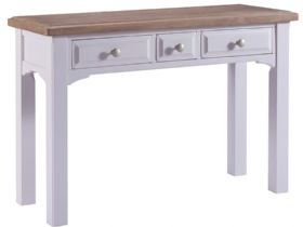 Light Grey 3 Drawer Dressing Table