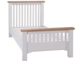 Light Grey 3'0 Single Bed Frame