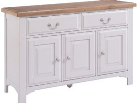 Grey Large Sideboard
