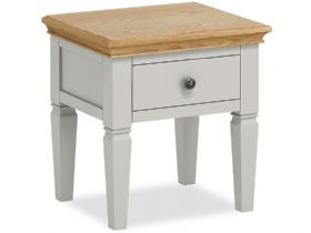 Painted Lamp Table With Drawer