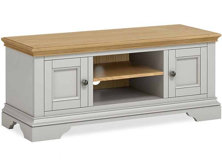 Ledbury painted large tv unit