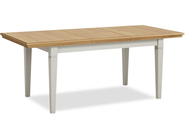 Painted Compact Extending Dining Table