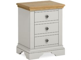 Painted 3 Drawer Bedside