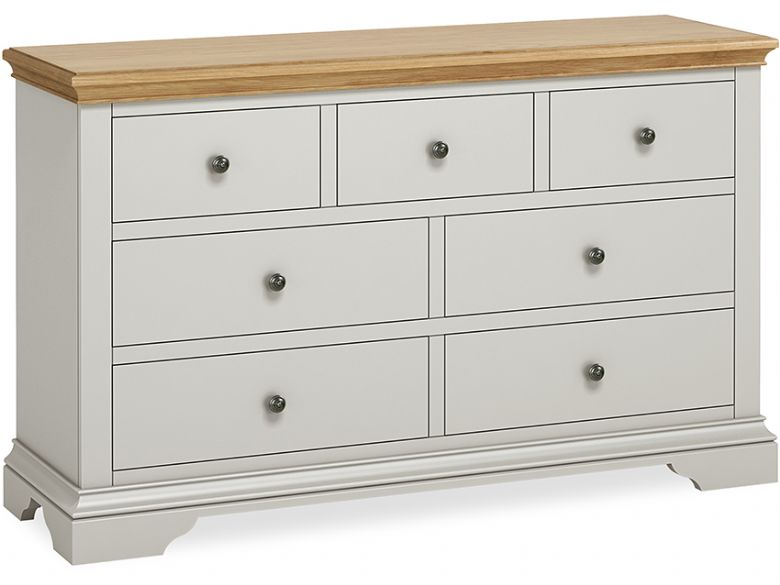 Ledbury painted 3 over 4 chest of drawers