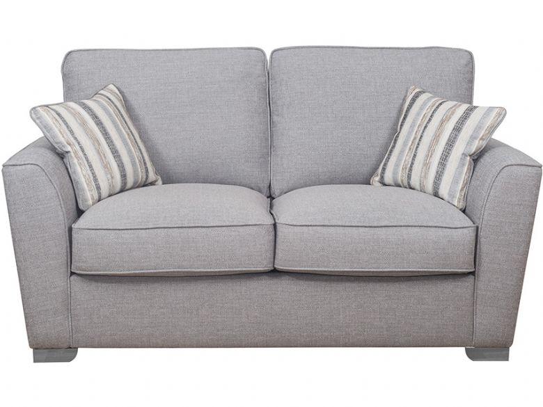 2 Seater Fabric Sofa Bed with Deluxe Mattress