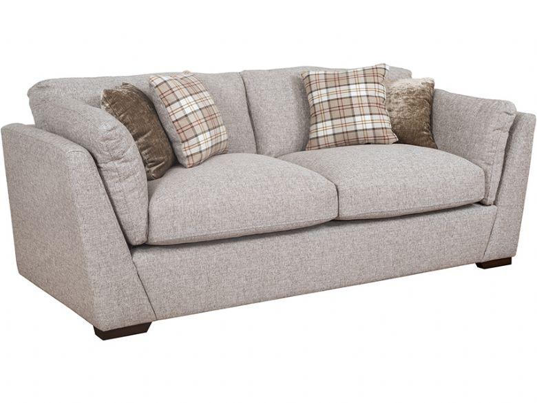 Rhonda 3 Seater Fabric Sofa