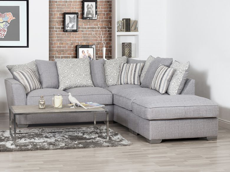 grey fabric corner sofa – Home Decor 88