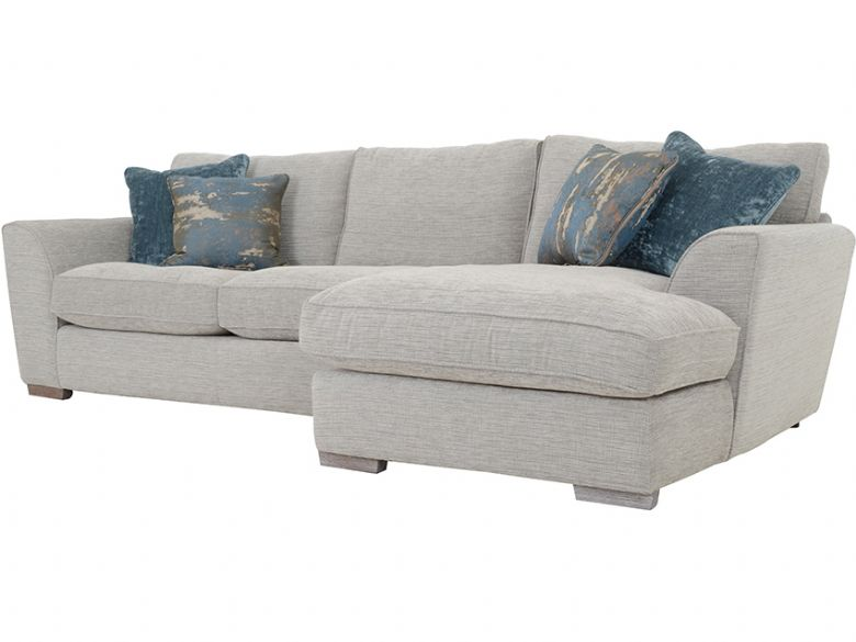 Delma RHF Large Corner Chaise Sofa Side