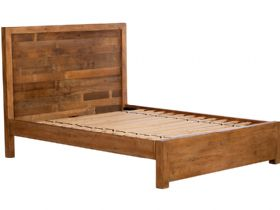 5'0 King Size Reclaimed Low Foot End Bed