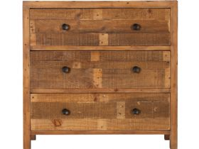 Halstein reclaimed 3 drawer wide chest