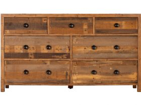 Reclaimed Wide 7 Drawer Chest