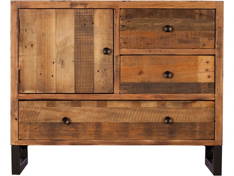 Halstein reclaimed narrow sideboard