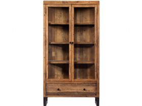 Halstein reclaimed display cabinet
