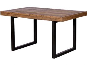 Halstein reclaimed 140cm extending dining table