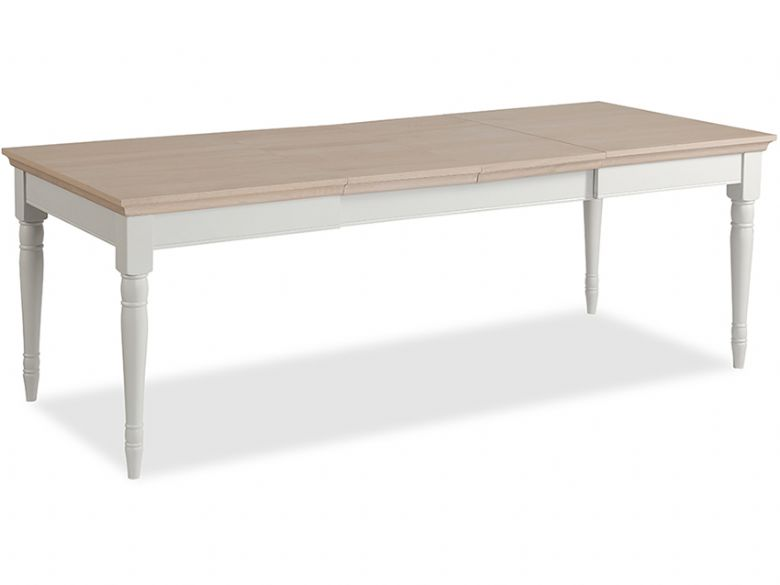Carolina Painted 125cm Extending Dining Table, 2 leaves