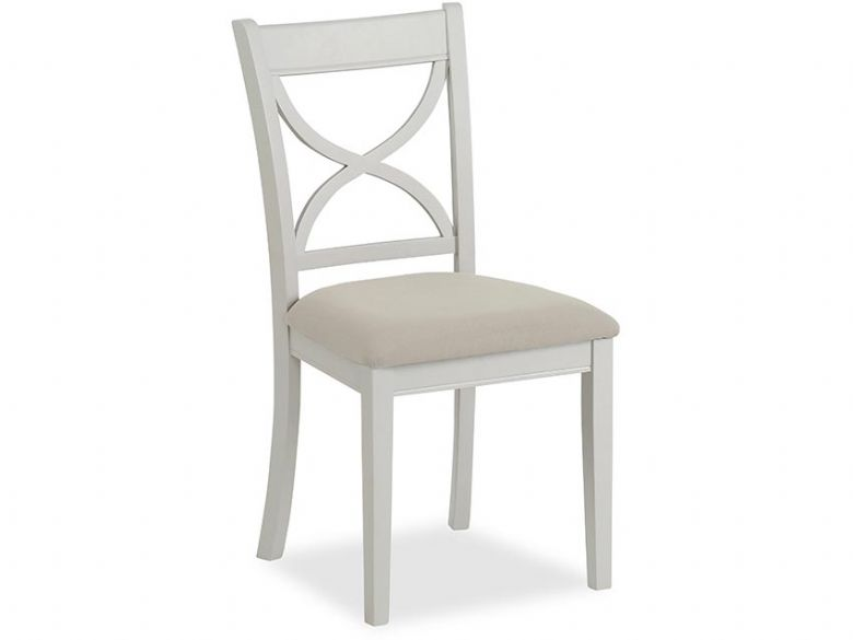 Painted Cross Back Dining Chair
