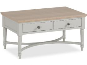 Carolina Painted Coffee Table With Drawers