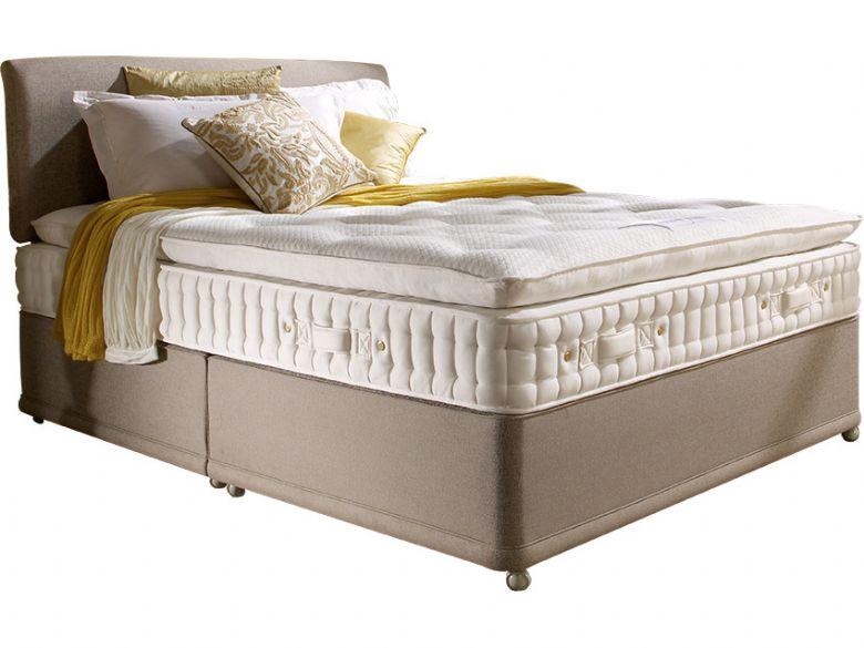 rushbury 5u00270 king size divan u0026 zip link mattress