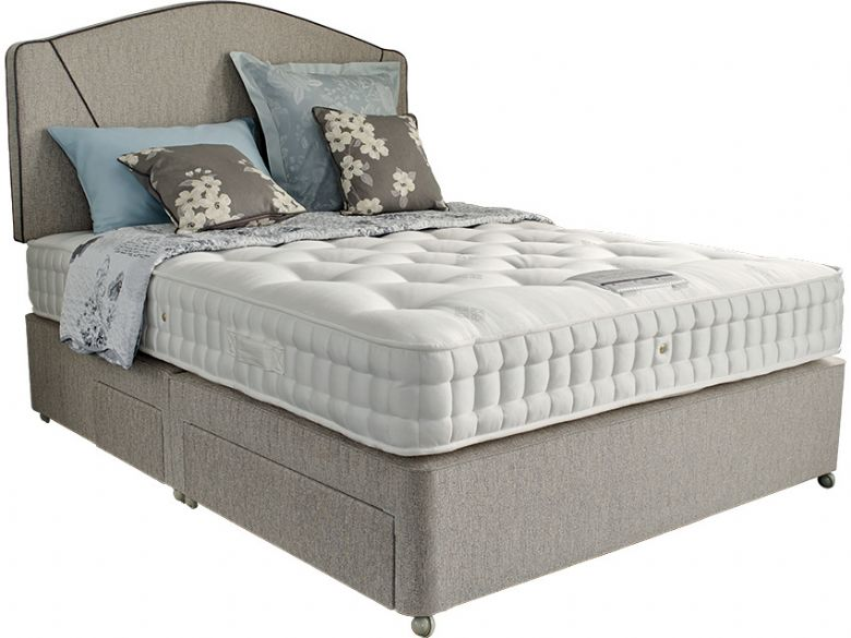4'6 Double Deep Divan Base & Mattress