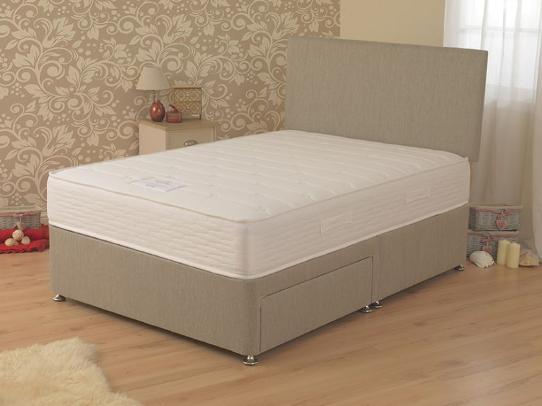 Dahlia 3'0 Single Deep Divan Base & Mattress
