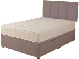 4'0 Small Double Side Opening Ottoman & Mattress