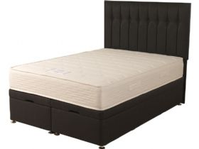 4'0 Small Double Front Opening Ottoman & Mattress